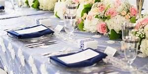 Tischdeko Blau Weiß : hochzeitsdeko blau wei inspirationen zu den eleganten hochzeitsfarben ~ Markanthonyermac.com Haus und Dekorationen