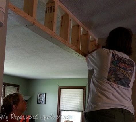 installing real carriage barn door  repurposed life