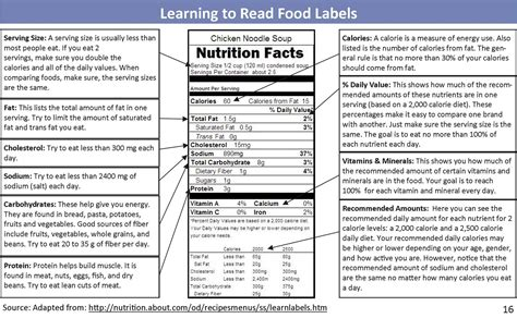 label cuisine nutrition labels not true u vib