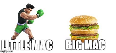 Big Mac Meme - little mac s long lost brother imgflip