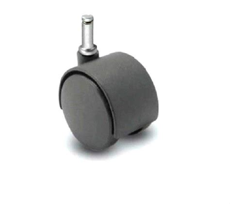 hooded wheel swivel 50mm office chair caster with