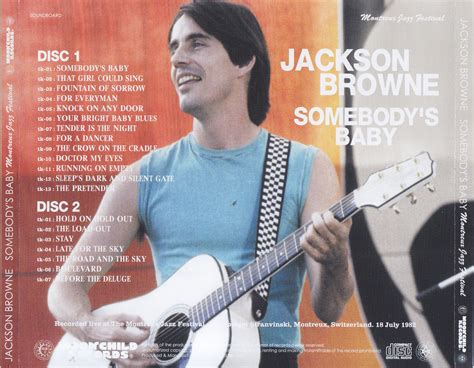 Jackson Browne Somebody's Baby