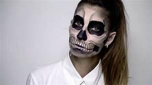 Déguisement Halloween Qui Fait Peur : maquillage halloween qui fait peur pour fille ~ Dallasstarsshop.com Idées de Décoration