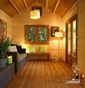 Gartenhaus Innen Streichen : die nat rliche farbe des holzes und gr ne akzente die sich innen und beim blick in den garten ~ Yasmunasinghe.com Haus und Dekorationen