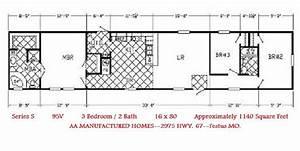 Single Wide Mobile Home Floor Plans Single Wide Floorplans