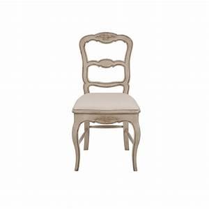 Chaise En Pin : chaise en tissu et pin louise beige interior 39 s ~ Teatrodelosmanantiales.com Idées de Décoration