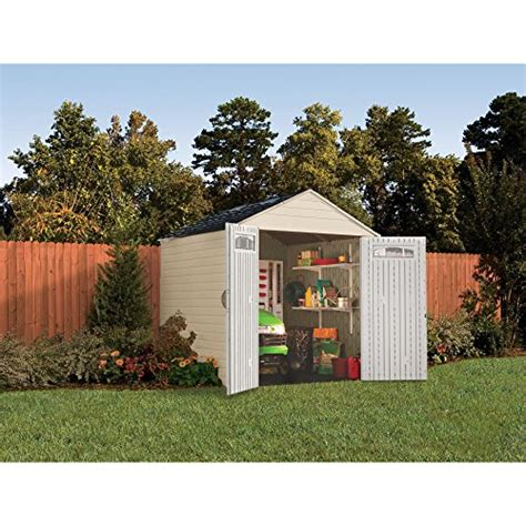 Rubbermaid Roughneck 7x7 Shed Assembly by Rubbermaid 7x7 X Large 325 Cubic Outdoor Storage