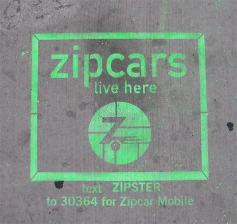 Zipcars Graffiti In Chicago