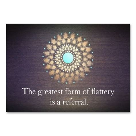 referral card quotes for business referral cards quotesgram