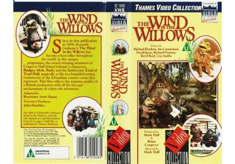 Wind In The Willows, The (1983)on Thames Video Collection