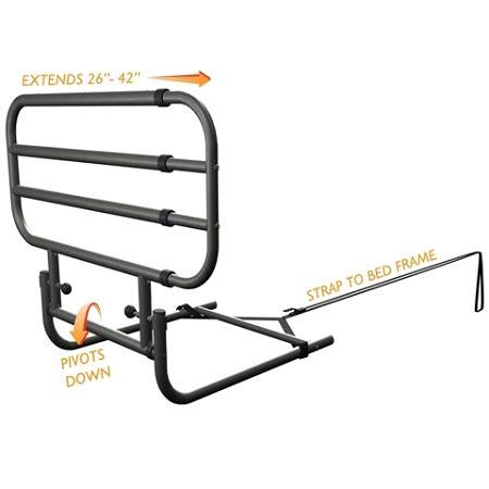 stander ez adjust bed rail standers ez adjust bed rail adjustable bed safety rail
