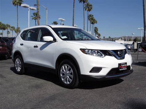 New 2016 Nissan Rogue S 4d Sport Utility In Tustin