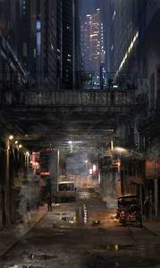 This underpass by atomhawk on deviantART captures the cold ...