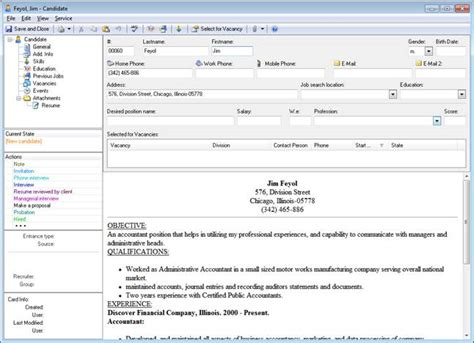 e staff recruitment software applicant tracking system