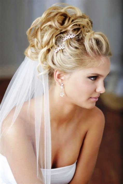 wedding hairstyles  veils