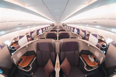Singapore Airlines A380 New Business Class Overview