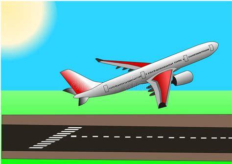 illstration vector  plane  airbus   stock
