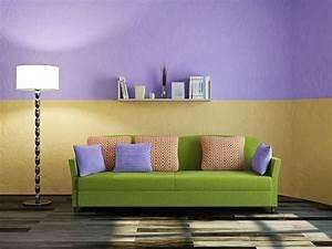Kissen Rückenlehne Wand : wohnzimmer mit gr n einrichten ~ Eleganceandgraceweddings.com Haus und Dekorationen