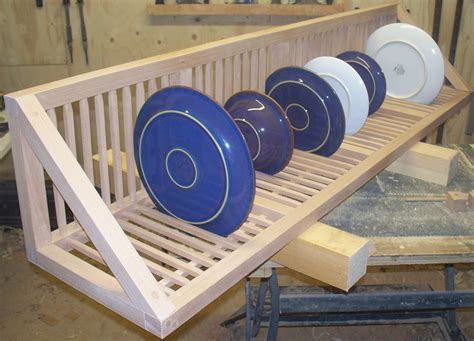 image result  narrow wooden plate rack wooden plates