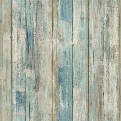 Tapete Holzoptik Verwittert by Rmk9052wp Blue Distressed Wood Peel And Stick Wallpaper Ebay