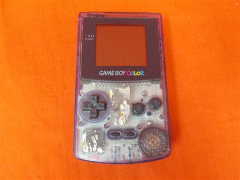 atomic purple gameboy color boy color atomic purple