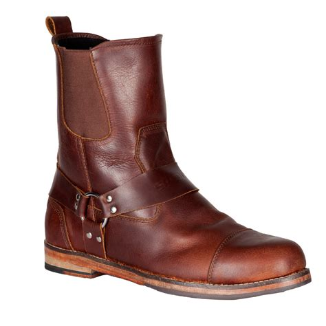 brown leather motorcycle boots spada kensington motorcycle boots brown leather motorbike