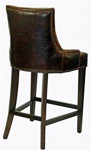 Bar Stools  U0026 Kitchen Counter Stools    Antique Coco Top Grain Leather Counter Stool