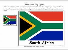 South Africa Flag Jigsaw