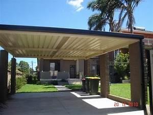 Flat roof carports, free standing flat carport roof