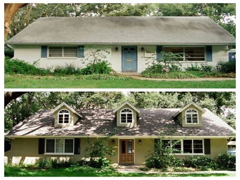 House Remodel Pictures Before And After, Ranch Home