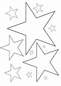 6  Star Coloring Pages