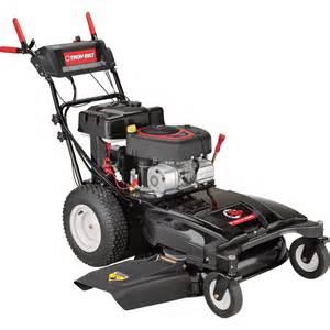 product troy bilt wide cut self propelled mower 344cc