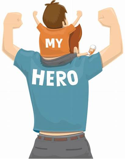 Fathers Hero Happy Father Transparent Background Icons