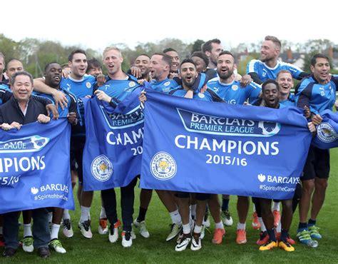 Pictures: Leicester stars celebrate Premier League title ...