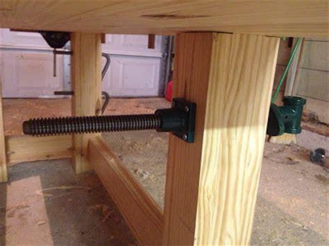 lawren woodworking bench leg vise wooden plans  sales
