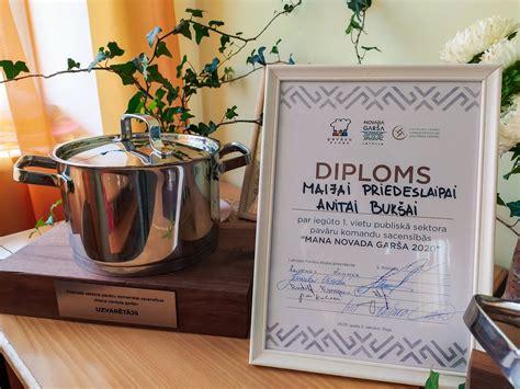 Rekavas vidusskolas pavāres uzvarējušas konkursā «Mana ...