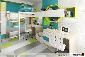 Návrhy pokojů pro teenagery