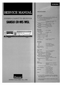 Free Download Sansui Cr M5 Service Manual
