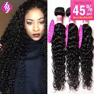 "Peruvian Virgin Hair Human Hair Weave Water Wave 8""-30 ..."