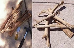 Planche De Bois Flotté : comment faire du bois flott partir de planches de bois classiques travail du bois effet ~ Melissatoandfro.com Idées de Décoration