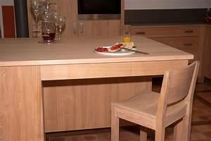 ilot cuisine bois massif elegant ilot de cuisine en bois With ilot cuisine bois massif
