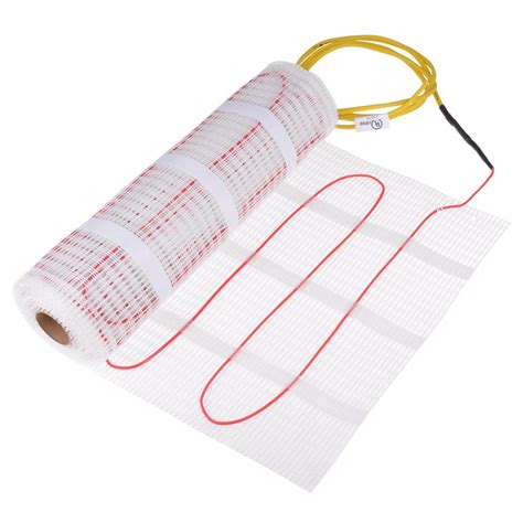 Electric Radiant Heat Mat - 10 15 20 30 40 50 60 70 sq ft electric tile floor heating