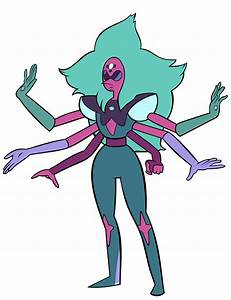 Alexandrite, Pearl, Garnet and Amethyst fusion. | Steven ...