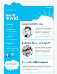 Email Newsletter Design Template