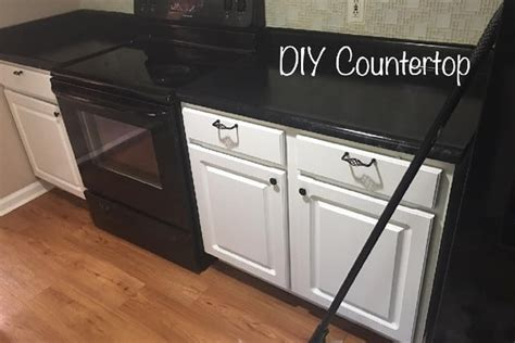 How to DIY Faux Marble or Granite Counters for Under $100