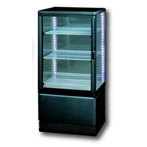chambre froide professionnelle petit frigo vitrine circulaire pour la pâtisserie 89 cm