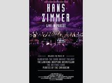 'Hans Zimmer – Live in Prague' concert available on