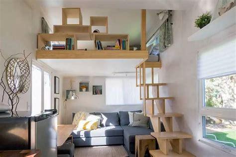 Bright Tiny House Feels Like A Modern Urban Loft Space