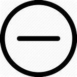 Icon Subtraction Negative Subtract Minus Delete Remove