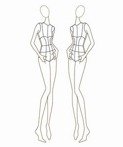 25 best ideas about fashion illustration template on With fashion designer drawing template